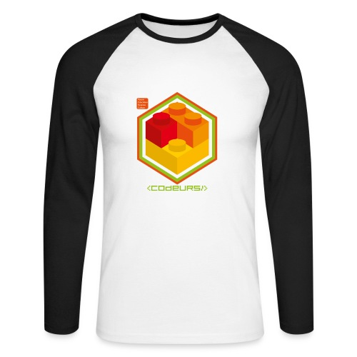 Esprit Brickodeurs - T-shirt baseball manches longues Homme