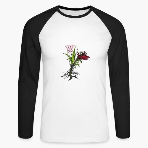 Serenity Trace - Jamais Vu Cover - Langermet baseball-skjorte for menn