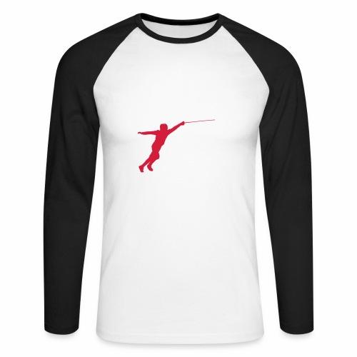 Jumping Fencer - Männer Baseballshirt langarm