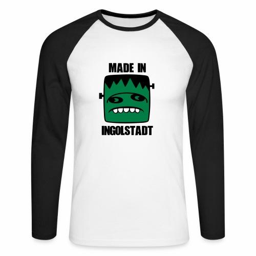 Fonster made in Ingolstadt - Männer Baseballshirt langarm