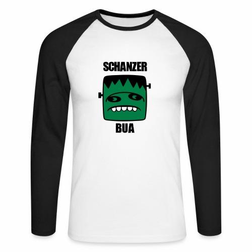 Fonster Schanzer Bua - Männer Baseballshirt langarm