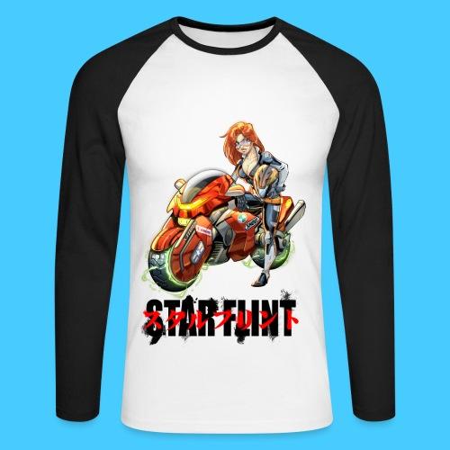 StarFlint Trixie - T-shirt baseball manches longues Homme