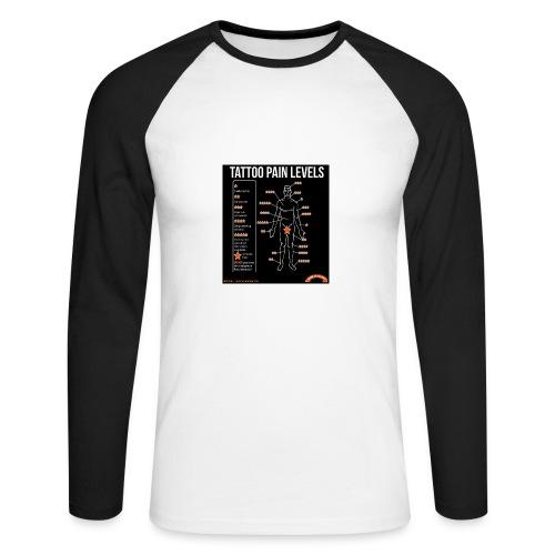 tatoo - T-shirt baseball manches longues Homme