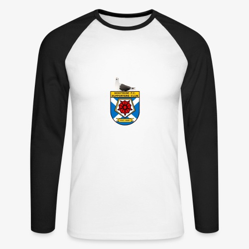 Montrose FC Supporters Club Seagull - Men's Long Sleeve Baseball T-Shirt