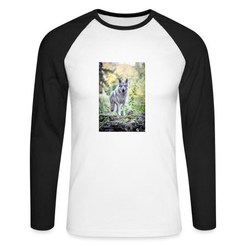 La Tanière des Chiens-Loups - T-shirt baseball manches longues Homme