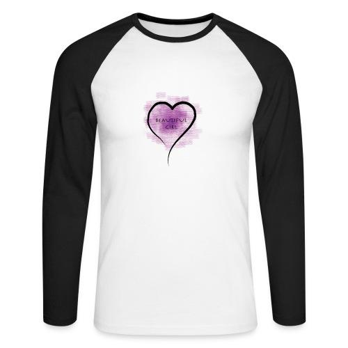 Longsleeves- Beautiful Girl - Männer Baseballshirt langarm