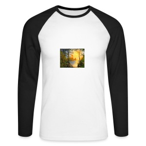 Temple of light - Men's Long Sleeve Baseball T-Shirt