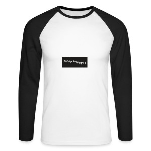 logo_merch - Men's Long Sleeve Baseball T-Shirt