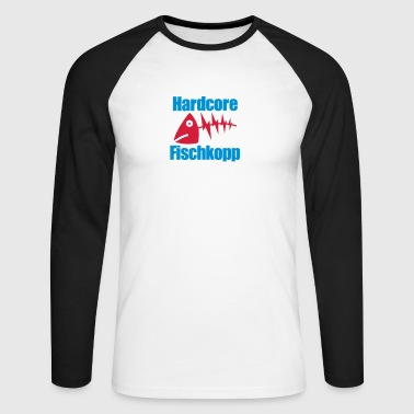 Fischkopp extrem - Männer Baseballshirt langarm