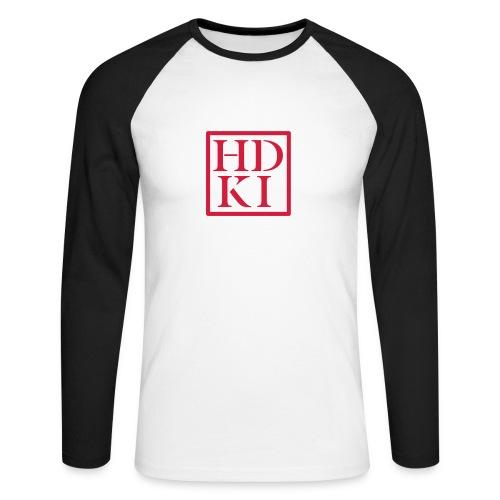 HDKI logo - Men's Long Sleeve Baseball T-Shirt