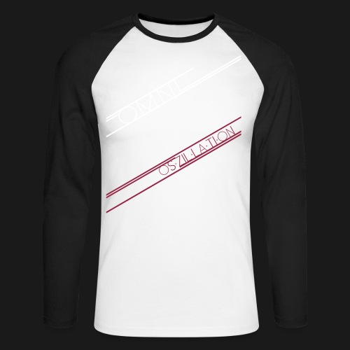 C8H10N4O2 Oszillation Container - Männer Baseballshirt langarm