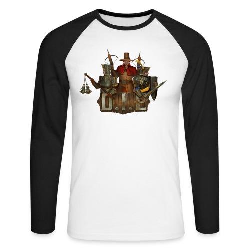 THE logo - Good Characters - Men's Long Sleeve Baseball T-Shirt