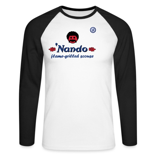 nandosblue - Men's Long Sleeve Baseball T-Shirt
