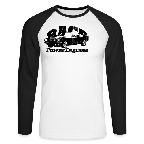 RACE - Männer Baseballshirt langarm