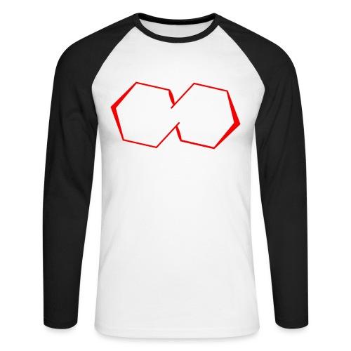 Pentagon Logo - Männer Baseballshirt langarm