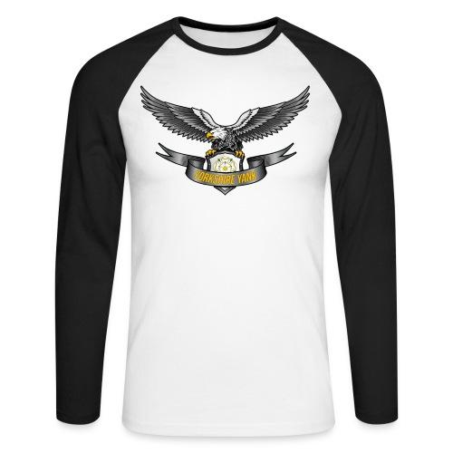 Eagle Shield - Men's Long Sleeve Baseball T-Shirt