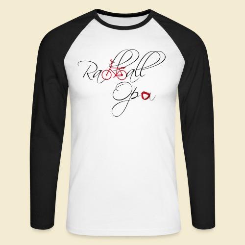 Radball   Opa - Männer Baseballshirt langarm