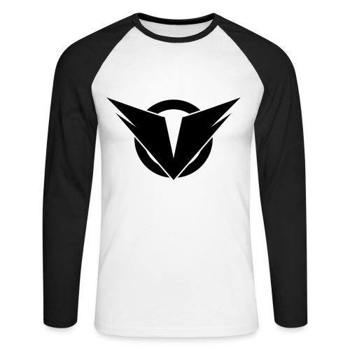 Vintry Logo on back - Männer Baseballshirt langarm