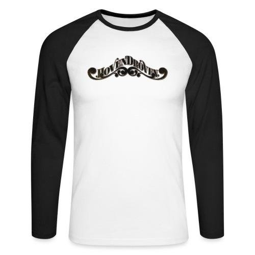 HOVEN DROVEN - Logo - Men's Long Sleeve Baseball T-Shirt