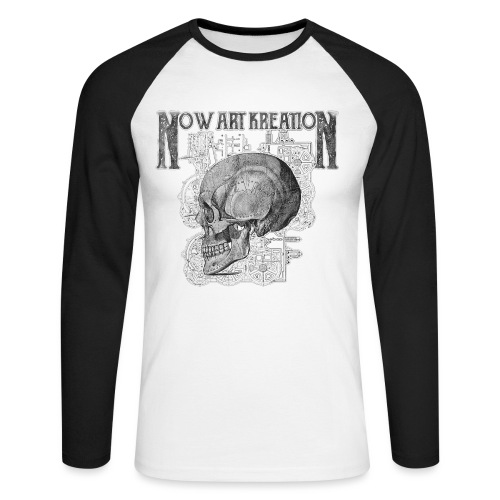 Now Art Kreation 2018 - T-shirt baseball manches longues Homme