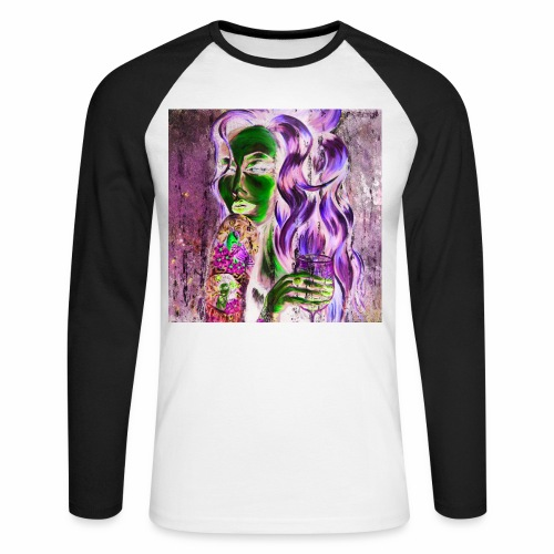 Fly Free Song Bird The Dark Side 2 - Men's Long Sleeve Baseball T-Shirt