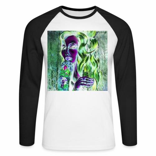Fly Free Song Bird The Dark Side 3 - Men's Long Sleeve Baseball T-Shirt