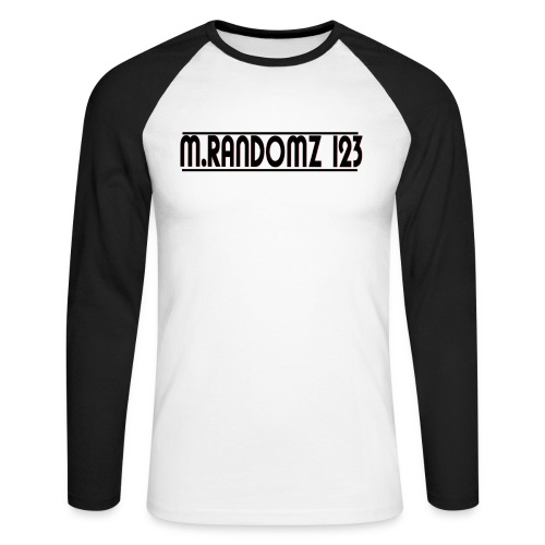 m.randomz 123 - Men's Long Sleeve Baseball T-Shirt