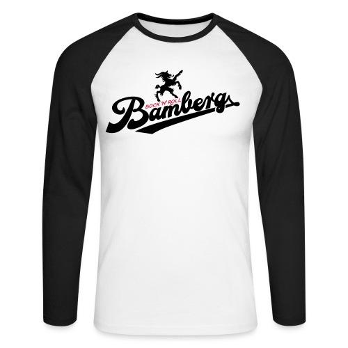 Bock N Roll College - Männer Baseballshirt langarm