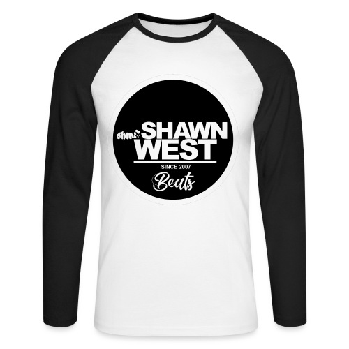 SHAWN WEST BUTTON - Männer Baseballshirt langarm