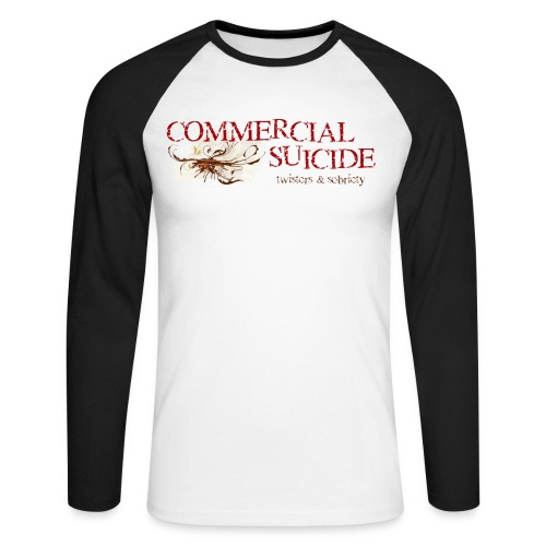 twisters sobriety - Männer Baseballshirt langarm