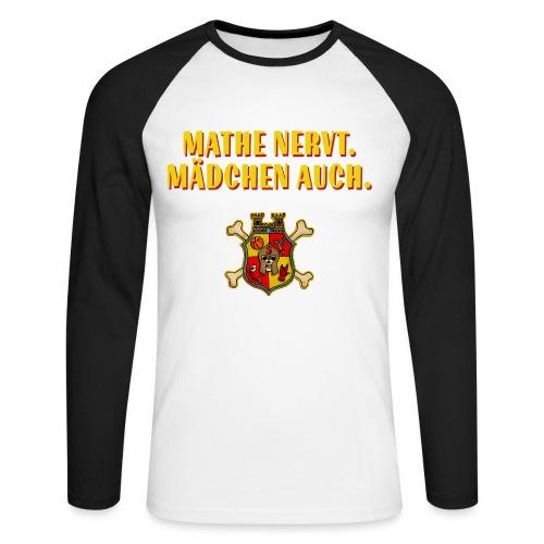 Wappen - Männer Baseballshirt langarm