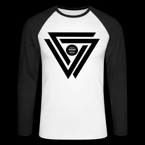 07logo complet black - T-shirt baseball manches longues Homme
