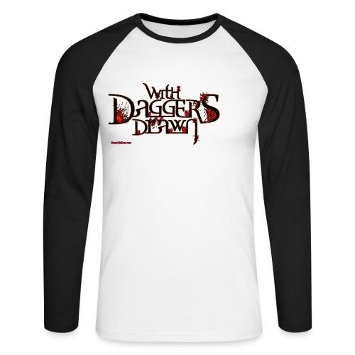 daggarslogoblackfinal - Men's Long Sleeve Baseball T-Shirt