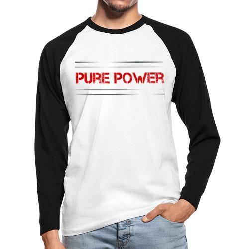 Sport - Pure Power - Männer Baseballshirt langarm