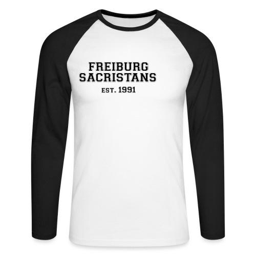 sacristans motiv 2s - Männer Baseballshirt langarm
