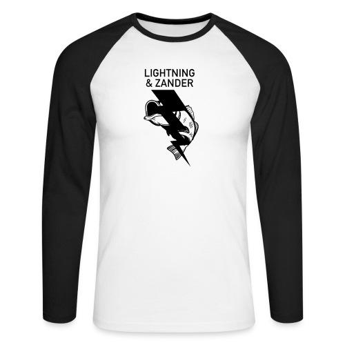 Lightning & Zander - Männer Baseballshirt langarm