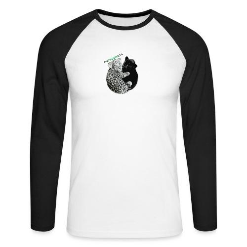 panther-jaguar special edition - Langærmet herre-baseballshirt