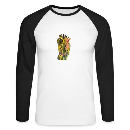 Bananas king - Men's Long Sleeve Baseball T-Shirt