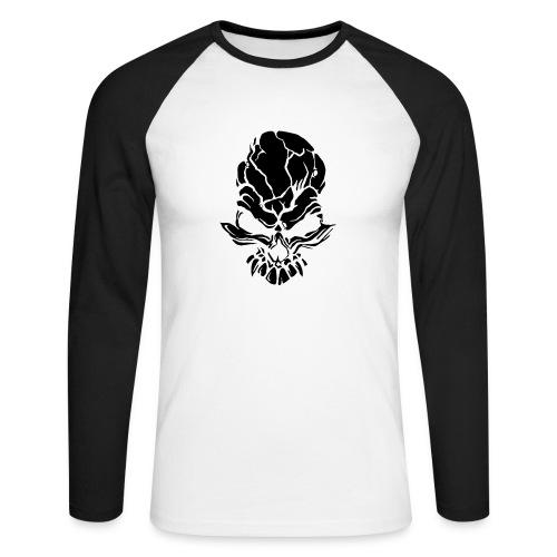 F noize fronte png - Men's Long Sleeve Baseball T-Shirt