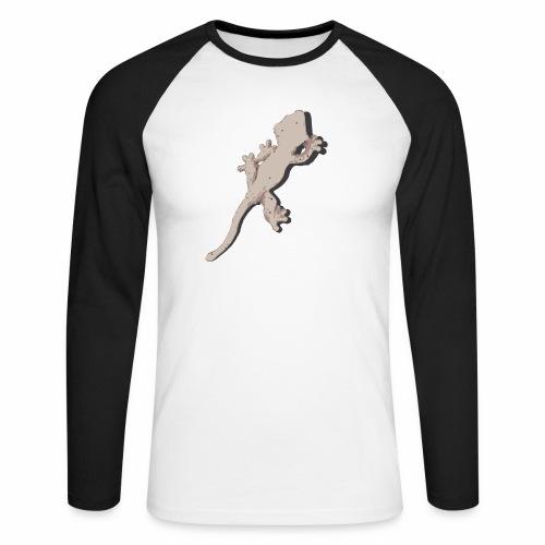 Crested Gecko - Männer Baseballshirt langarm