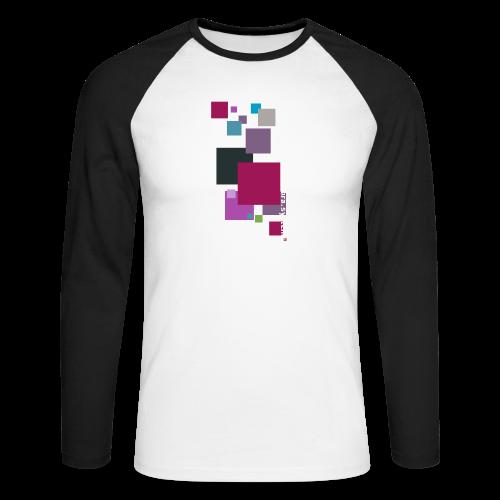 ontwerp t shirt png - Men's Long Sleeve Baseball T-Shirt