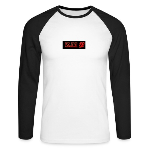 Z.M 100 - Men's Long Sleeve Baseball T-Shirt