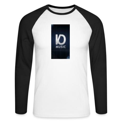 iphone6plus iomusic jpg - Men's Long Sleeve Baseball T-Shirt