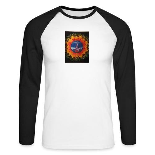 Children of the sun - Langermet baseball-skjorte for menn