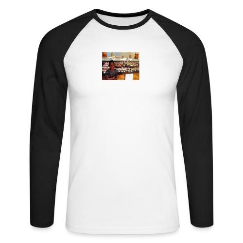 Cpr 2934 - Langærmet herre-baseballshirt