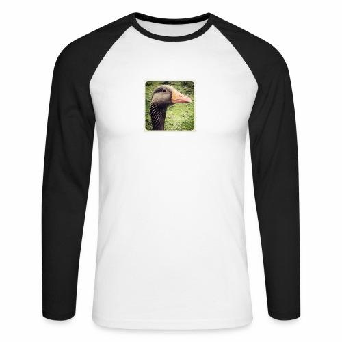 Original Artist design * Coin Coin - Men's Long Sleeve Baseball T-Shirt