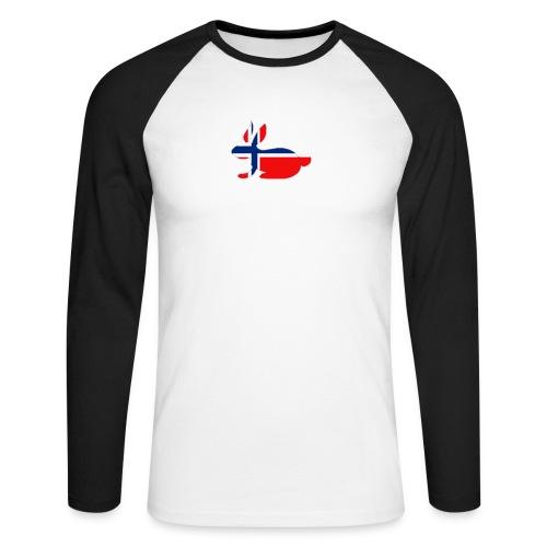 bunny_NY_LOGO_LI - Men's Long Sleeve Baseball T-Shirt