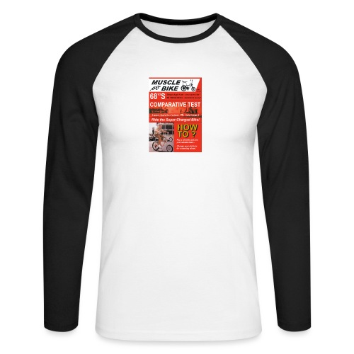 musclebike06 - T-shirt baseball manches longues Homme