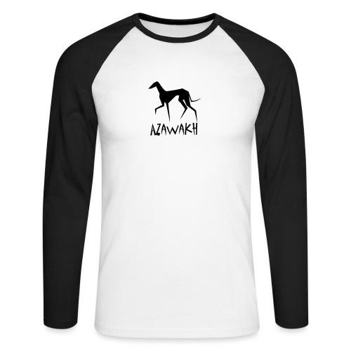 Azawakh - Männer Baseballshirt langarm