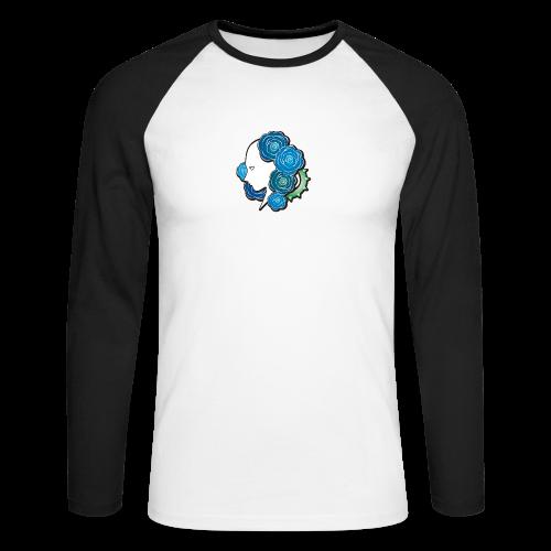 Rosa - T-shirt baseball manches longues Homme